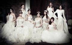少女时代美女婚纱壁纸