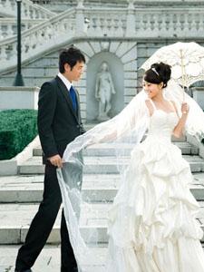 郝蕾李光洁浪漫唯美婚纱写真