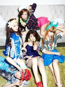 韩国女团fx组合成员照片