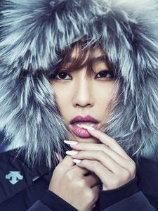 韩国女子组合sistar孝琳个性写真