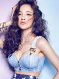 刘雨欣化身魅力精灵 清纯与性感之间