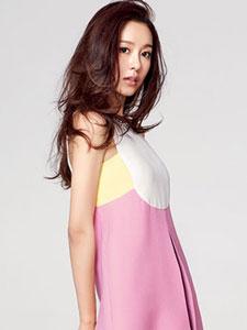张子萱时尚杂志写真 粉嫩活泼似青春少女