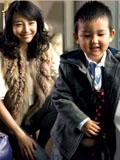 白百何和儿子亲密写真尽显母爱