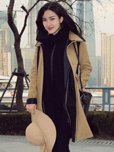 极品美女朱韵淇时尚街拍