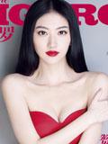 景甜最新《费加罗》封面写真 复古名媛百变魅力