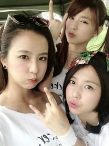 大美妞周晓涵和她的姐妹们
