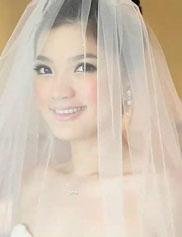 丁丁婚纱照唯美新娘