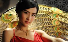 《危险关系》张柏芝红色晚礼服妩媚壁纸