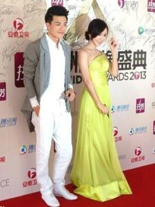 娄艺潇出席亚洲偶像盛典