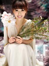 唐嫣纯美写真 春天仙子笑容明媚
