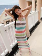 叶熙祺化身糖果女孩 打造彩色长裙甜美风