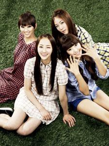 韩国女子组合sistar集体照