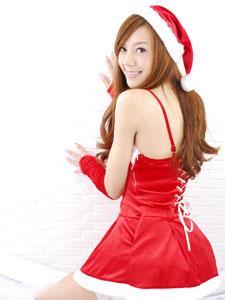 可爱女神周韦彤圣诞装显调