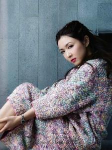 女神薛凯琪杂志写真照