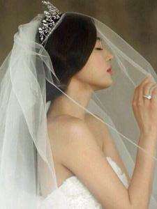 全智贤女神绝世魅力婚纱照