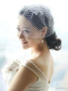 女神白冰唯美婚纱照