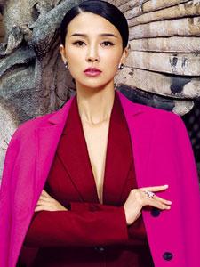 姚星彤登时尚封面 优雅气质显大牌