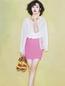 韩女星崔雪莉写真 女人味十足