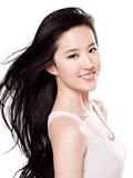 迷人笑容美女女星刘亦菲