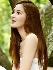 冯焱清纯唯美高清写真 一袭白裙似仙女